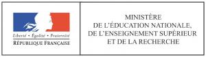 Logo Ministère de l'éducation nationale, de l'enseignement supérieur et de la recherche